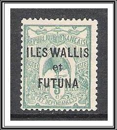 Wallis & Futuna #4 Kagu NG