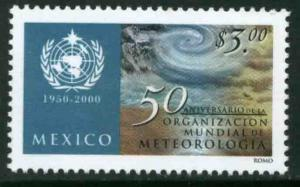 MEXICO 2210, World Meteorological Organization 50th Anniv. MINT, NH. F-VF.