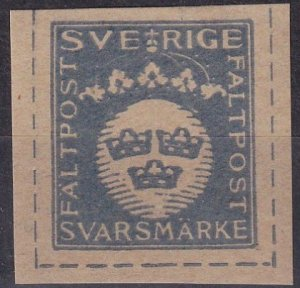 Sweden Military Reply Stamp (Z6243)