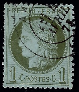 Important France #50 Used F-VF SCV$13...From a great auction!