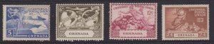 Grenada Sc#147-150 MNH - 6c and 12c values have small tears