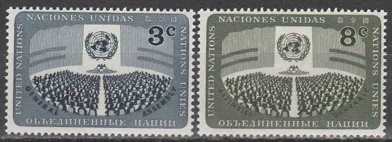 United Nations #45-6  MNH (S1690)