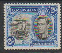 Grenada  GVI SG 161 perf 12½  light mounted mint