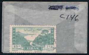 Lebanon C146 Used Bay of Jounie 1949 (L0096)