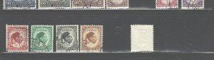 LIBYA 1952 King IDRIS USED #138 - 146 $14.70 + #141 MNH $22.50