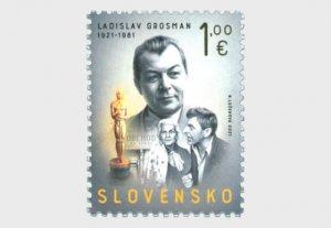 2021 Slovakia Ladislav Grosman - Writer (Scott 868) MNH