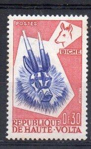 UPPER VOLTA - 1960 - ANIMAL MASKS - DEAR - 0f30 -