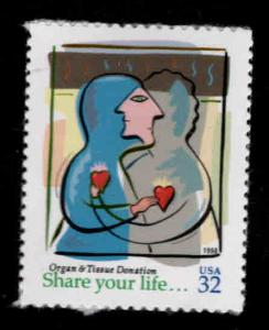 USA Scott 3227 Organ Donor self adhesive stamp  MNH**