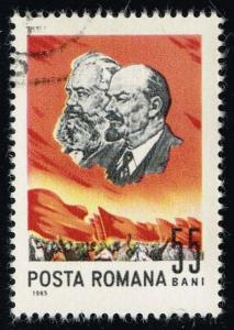 Romania #1777 Marx and Lenin; CTO (0.25)