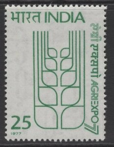 INDIA SG866 1977 AGRIEXPO 77 AGRICULTURAL EXHIBITION MNH
