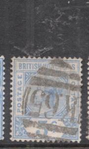 British Honduras SG 54, K65 Cancel VFU (9dhw)