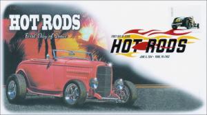 SC 4908, 2014 Hot Rods, Digital Color Postmark Postmark,  Item 14-085