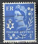 Great Britain, Regional, North. Ireland; 1958: Sc. # 2: O/Used Single Stamp