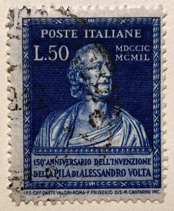 AlexStamps ITALY #527 FVF Used