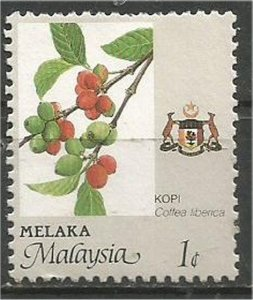 MALACCA, 1986, mint 1c, Agriculture. Scott 88