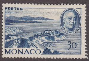 Monaco 199  Harbour of Monte Carlo 1946