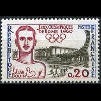 FRANCE 1960 - Scott# 969 Olympics Winner Set of 1 NH
