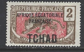 Chad Sc # 20 mint hinged (RS)
