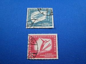 GERMANY  (DDR) -  SCOTT #76-77   Used   (dd)