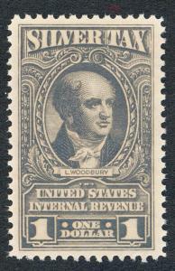 U.S. RG120 MINT NH $1 SILVER TAX
