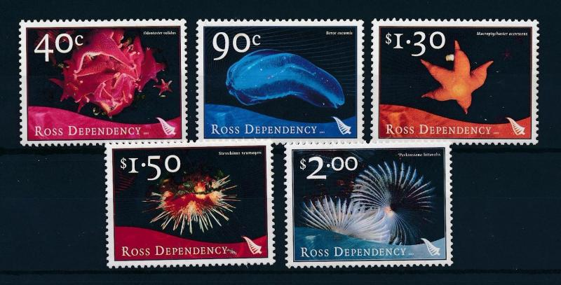 [51990] Ross Dependency 2003 Marine life  MNH