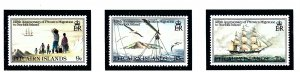 Pitcairn Is 203-05 MNH 1981 Anniv of Migration to Norfolk Is      (KA)