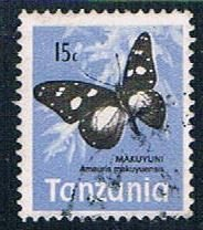Tanzania Butterfly - pickastamp (TP27R307)