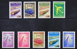Paraguay Scott #577-81 & C278-281 MH