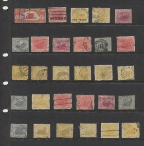 STAMP STATION PERTH Western Australia #Small Collection of 29 Used Stamps