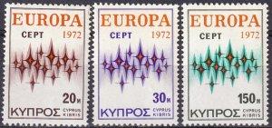 Cyprus #380-82 MNH CV $5.95 (Z4392)