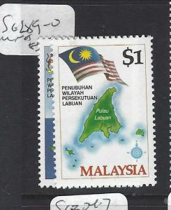 MALAYSIA   (PP0901B)     SG 289-90    MNH