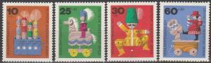 Germany #9NB83-6  MNH VF (V2317)