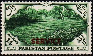 Pakistan. 1954 14a S.G.O57 Mounted Mint
