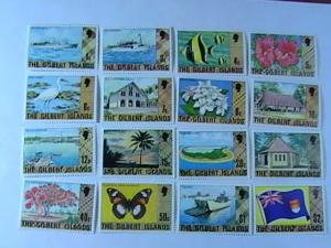 THE GILBERT ISLANDS # 269-284-MINT/NEVER HINGED-COMPLETE SET----QEII----1976