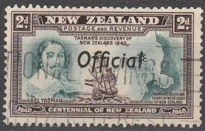 New Zealand #O77 F-VF Used