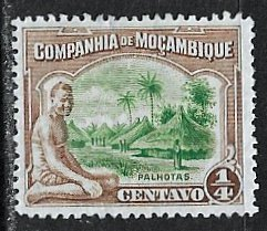 Mozambique Company ~ Scott # 108 ~  Unused ~ No Gum