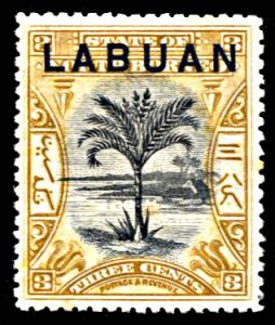 Labuan 85, hinged with faults, Sago Palm