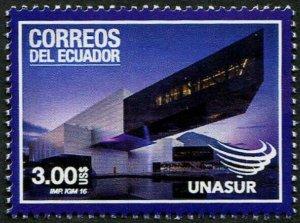HERRICKSTAMP NEW ISSUES ECUADOR Sc.# 2191 UNASUR