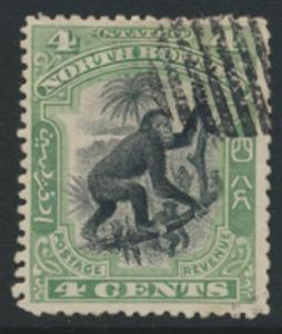 North Borneo  SG 98   Used  perf 13½ please see scan & details