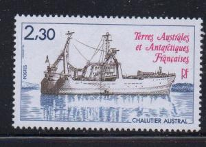 FRENCH SOUTHERN & ANTARCTIC TERR Sc 103 1983 Trawler stamp mint NH