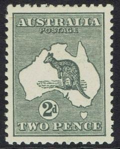 AUSTRALIA 1915 KANGAROO 2D DIE I 3RD WMK
