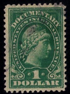 US SCOTT #R240 $1.00 Documentary Stamp USED F-VF