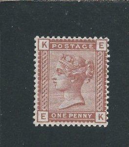 GB-QV 1880-81 1d VENETIAN RED MNH SG 166 CAT £35+
