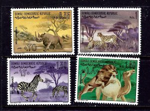 Somalia 374-77 MNH 1971 Wild Animals