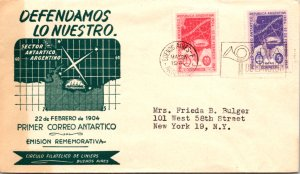 Argentina, Polar, Worldwide First Day Cover