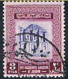 Jordan 308 Used El Deir Temple (BP6010)