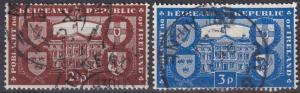 Ireland #139-40  F-VF Used  CV $8.50 (A19806)