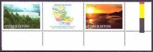 Uzbekistan. 2015. 1133-34. Landscapes. MNH.