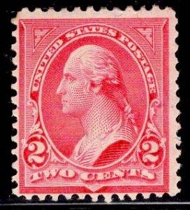 US Stamp #279Bf 2c Carmine Washington MINT Hinged SCV $10.00 Type IV