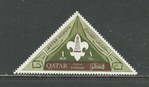 Qatar Scott catalogue #53 Unused HR See Desc